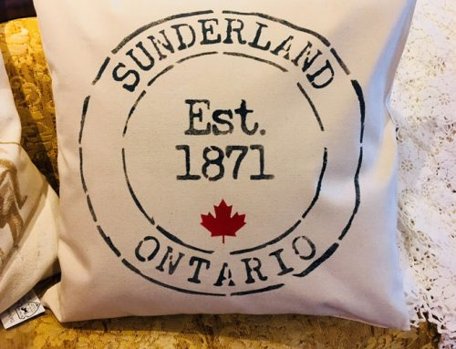 How to use a Stencil on a Pillowcase