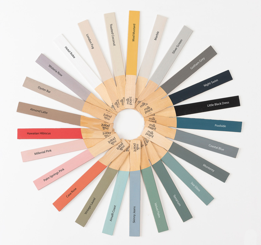 Fusion Milk Paint Colours at the Dark Horse