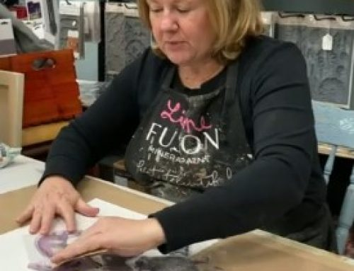 Using Iron Orchard Design Stamps