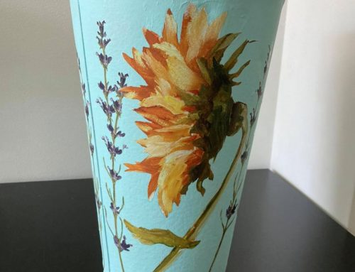 Applying Iron Orchid Design Stencils